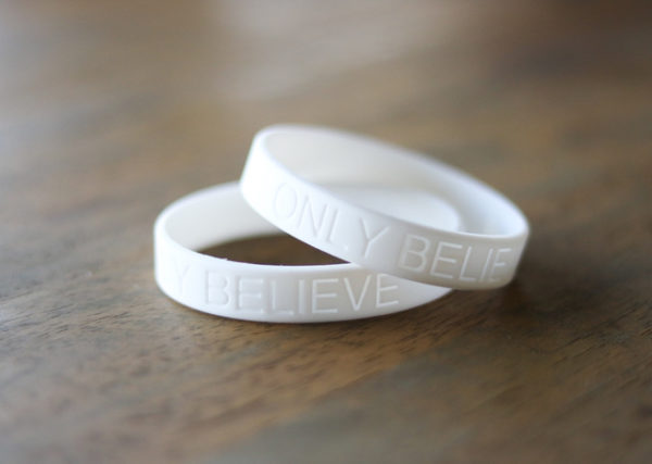 Only Believe Wrist Band